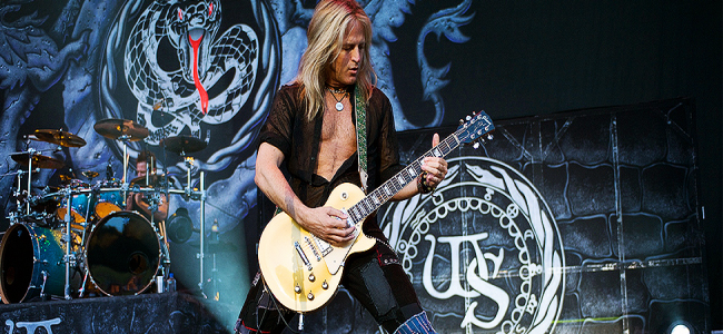 Whitesnake have parted company with guitarist Doug Aldrich